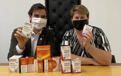 Starostové pomáhají nákupem vitamínů pro zaměstnance Znojemské nemocnice